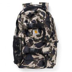 CARHARTT Kickflip Backpack sac à dos avec sangles de skateboard camo duck 69,00 € #skate #skateboard #skateboarding #streetshop #skateshop @playskateshop