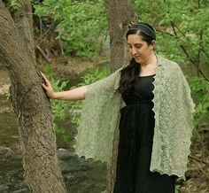 Ravelry: Ophelia Shawl pattern by Miriam L. Felton