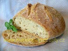 Bezlepkový křupavý chleba Dairy Free Recipes, Raw Vegan, Free Food, Banana Bread, Food And Drink, Low Carb, Vegetarian, Baking, Desserts