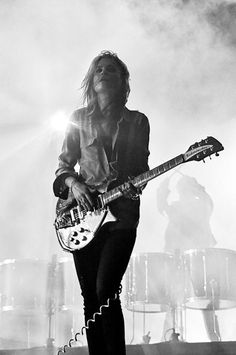 Allison Mosshart, not sure this is white, but I hope so cause i want it on my board!
