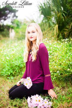 RILEY   ST. AUGUSTINE SENIOR PHOTOGRAPHER   Jacksonville Senior Photographer // Scarlett Lillian Seniors