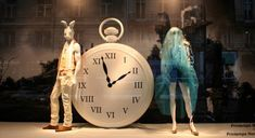 Alice in Wonderland Window Display for Le Printemps | Trendland: Fashion Blog & Trend Magazine
