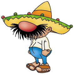funny mexican cartoon characters   Cartoon Mexican People Two mexicans are stuck in the