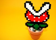 Piranha Flower. Super Mario Piranha. Super Mario Birthday Favour.