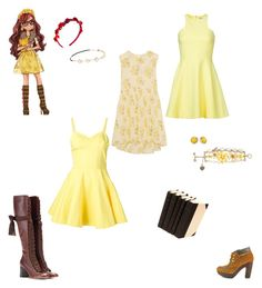 """""""Ever After High - Rosabella Beauty Inspired Outfits❤"""" by verostyle16 ❤ liked on Polyvore featuring The Great, Elizabeth and James, Jeremy Scott, Chloé, Betsey Johnson, Kate Spade, Lucky Brand and Chicnova Fashion"""