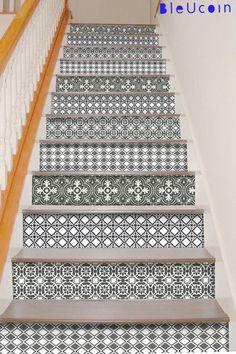 Treppe decals englischer cottage vinyl treppe schritte - Fensterbank englisch ...