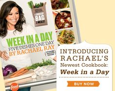 Click over to see a full selection of Rachael Ray products, including cookware, bakeware, books and lunch totes!