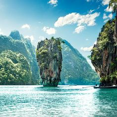 Seven Days in Thailand – Phuket island travel - Best Travel Photos Phuket, Visit Thailand, Thailand Travel, Thailand Honeymoon, Krabi Thailand, Places To Travel, Places To Visit, Voyager Seul, James Bond Island