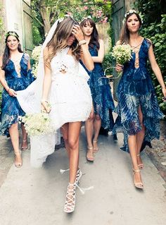 The Stylish Couple's Capri Coastline Wedding Is A Must-See+#refinery29