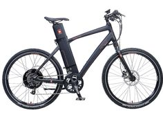 """I rode this. Rides like a dream!!   eFlow Nitro Electric Bike is the ultimate commuter and urban bike.  500W rear hub motor, 36V battery in the seatpost, pedal assist and throttle modes, SRAM 20 spd X7, hydraulic disc brakes, street suspension fork, custom formed aluminum tubes, 26"""" fat street tires.  We have mens small and med in stock, black only.  Can be ordered in large size.  MSRP $3999 on sale $3950."""