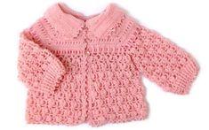 Sonhos de Bebê Crochet: Casaquinho de Bebê