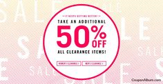 Steve Madden Offer: Additional 50% Off Clearance Items!