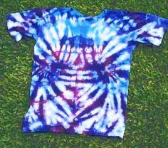 I also like to tie dye! I've tie dyed shorts, shirts, and headbands! It's fun to do with your friends!