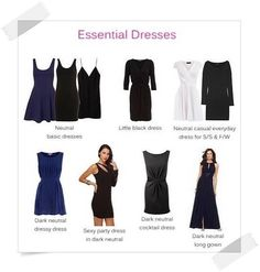 Essential Dresses - Your Wardrobe Essentials