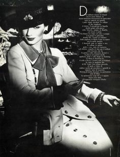 Walter Albini, Ensemble, photographed by Gian Paolo Barbieri for Vogue, 1975