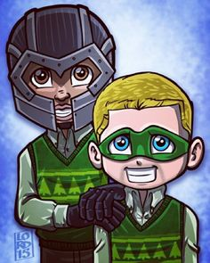 """""""The Green One"""" by Lord Mesa"""