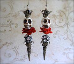 SKULL KING Earrings