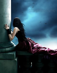 Angel After Dark. Top Gothic Fashion Tips To Keep You In Style. Consistently using good gothic fashion sense can help Dark Gothic Art, Gothic Fantasy Art, Fantasy Girl, Fantasy Magic, Gothic Wallpaper, Dark Princess, Romantic Goth, Gothic Angel, Beautiful Dark Art