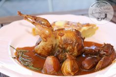 Codornices A La Miel Quail, Bon Appetit, Poultry, Shrimp, Cooking Recipes, Chicken, Food, Drinks, Recipes
