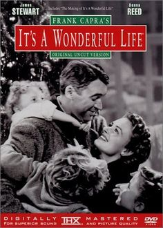 It's A Wonderful Life is one of the most popular and heartwarming films ever made. Director Frank Capra. Frank Capra regarded this film as his personal favorite - it was also James Stewart's favorite. A dark, bittersweet post-war tale of a S manager George Bailey who struggles against a greedy banker  in a small town. He is given encouragement by Clarence trainee-angel.  Along the way, George married his childhood sweetheart Mary (Donna Reed), who has stuck by him through thick and thin.