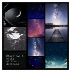 """""""look how the stars shine for you..."""" by heartandsoul ❤ liked on Polyvore featuring art"""