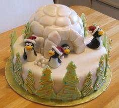 Penguin Christmas By artscallion on CakeCentral.com