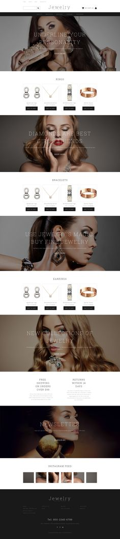 Jewelry Responsive MotoCMS Ecommerce Template #58487 http://www.templatemonster.com/motocms-ecommerce-templates/jewelry-responsive-motocms-ecommerce-template-58487.html