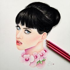 Katty Perry Drawing