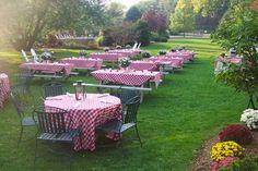 bbq wedding reception ideas | Rehearsal Dinner options at Interlaken Inn | Interlaken Inn - Resort ...