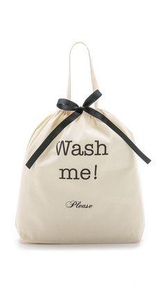Natural/Black Bag-all Wash Me Travel Bag