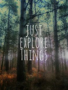 Explore Things