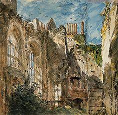 John CONSTABLE   Cowdray House: The ruins