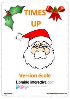 Une version du célèbre jeu de Time's UP pour jouer à l'école, de la GS au CM2 sur le thème de Noël.