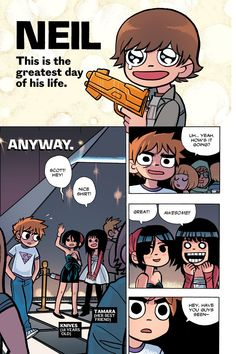 Scott Pilgrim Vol. 6 (of – … In His Finest Hour Scandal Abc, Scandal Quotes, Glee Quotes, Micheal Cera, Scott Pilgrim Comic, Bryan Lee O Malley, Arrow Tv Shows, Ramona Flowers, Graphic Novel Art
