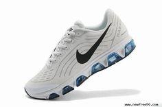 White Black Mens Shoes Nike Air Max Tailwind 6
