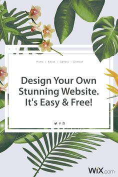 Create your free website with the Wix Free Website Builder, the easiest way to design and build a website. It's easy & free - go live today!