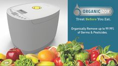 ORGANICIZOR - Clean your food of germs,pesticides etc. before you eat Treats, Cleaning, Money, Cooking, How To Make, Free, Sweet Like Candy, Kitchen, Goodies