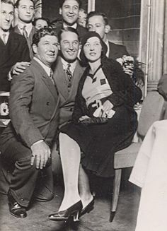 Actor Maurice Chevalier Come back in France Old Photo 1930