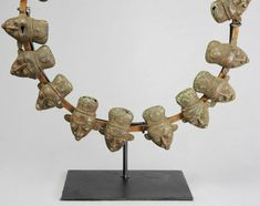 For Auction: Bamileke Bamum Bamun ceremonial bronze necklace African ( on Mar 2020 Diamond Jewelry, Two By Two, Objects, Women Jewelry, African, Bronze, Womens Fashion, Auction, Diamonds