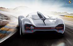 Porsche Electric, All Electric Cars, Le Mans, Car Design Sketch, Car Sketch, Peugeot, Ferrari, Benz, Futuristic Cars