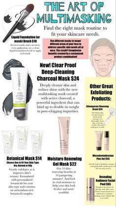 Multimasking please contact me for your masking needs. www.marykay.com/kbarefield1