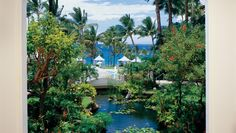 The Fairmont Kea Lani: The 22-acre grounds are dotted with tropical gardens and koi ponds.