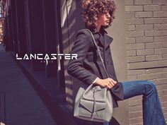 Lancaster Paris features bucket bag style in fall 2016 campaign