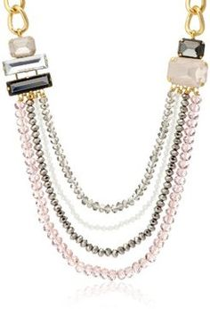 Four strands necklace / ShopStyle(ショップスタイル): [アビステ] ABISTE
