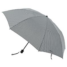 Gingham Check 2-Way Umbrella
