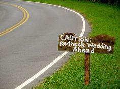 redneck wedding ideas - Google Search# Camo Wedding, Wedding Engagement, Camouflage Wedding, Wedding Bells, Rustic Wedding, Renewal Wedding, Our Wedding, Wedding Ceremony, Wedding Themes