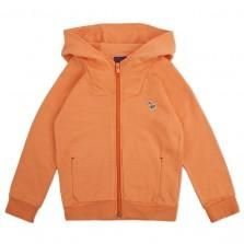 Paul Smith Junior - Boys' Orange Zip-Up Hooded Top