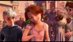 Cute family reunion with Jack so cute Jackunzel :)