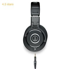 Audio-Technica ATH-M40X Professional Headphones  Black