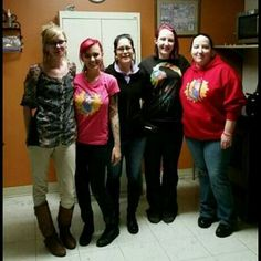 Here is a pic of our sister dolls from The Modified Dolls Kansas Chapter volunteering at Open Door Tuesday night! We are the Different making a Difference!   #ModifiedDolls #ModifiedWomen #Kansas #KSdolls #SupportingCharities #volunteering